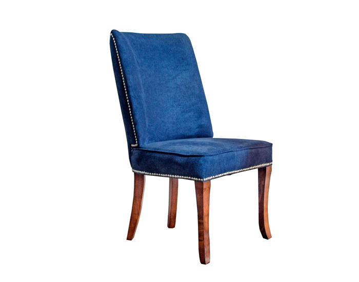 SILLA DE PAROTA BROOKLYN COLOR AZUL OXFORD (103×54×60cm)